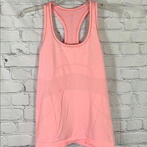 Lululemon Swiftly Tech Blush Pink Tank Size Med